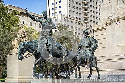 Standbeeld in Madrid