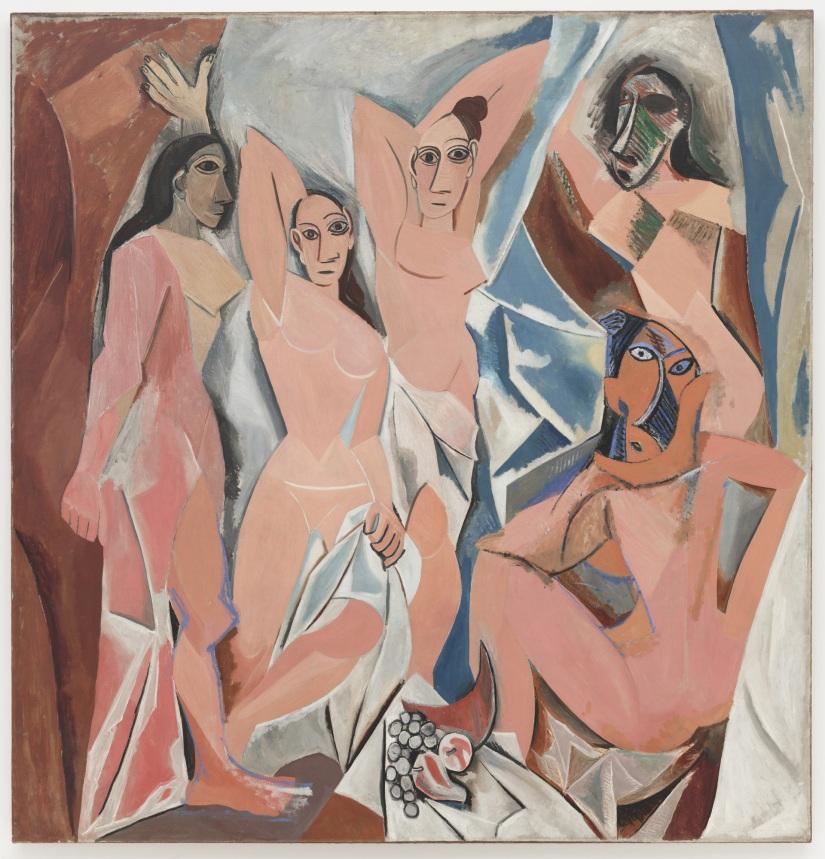 Les demoiselles d' Avignon vanPicasso