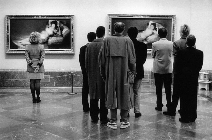 Wie schilderde Goya in LasMajas?
