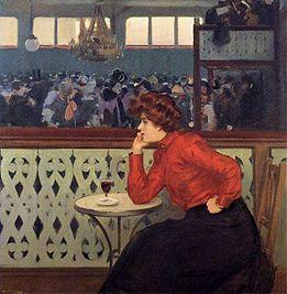 Ramon Casas - Moulin de la Galette 1902