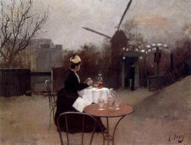 Ramon Casas - Plein Air 1890