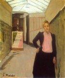 Rusiñol – Kaartverkoopster Moulin de la Galette 1890