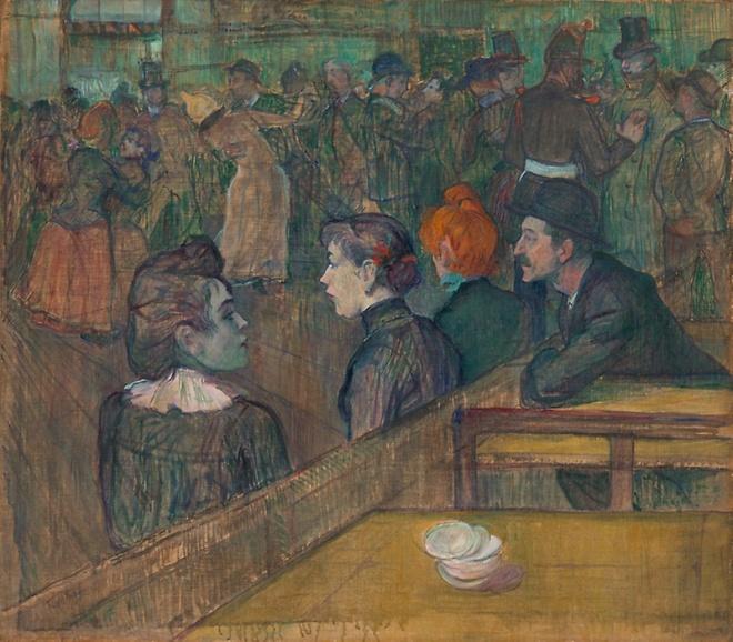 Toulouse-Lautrec Moulin de la Galette 1889